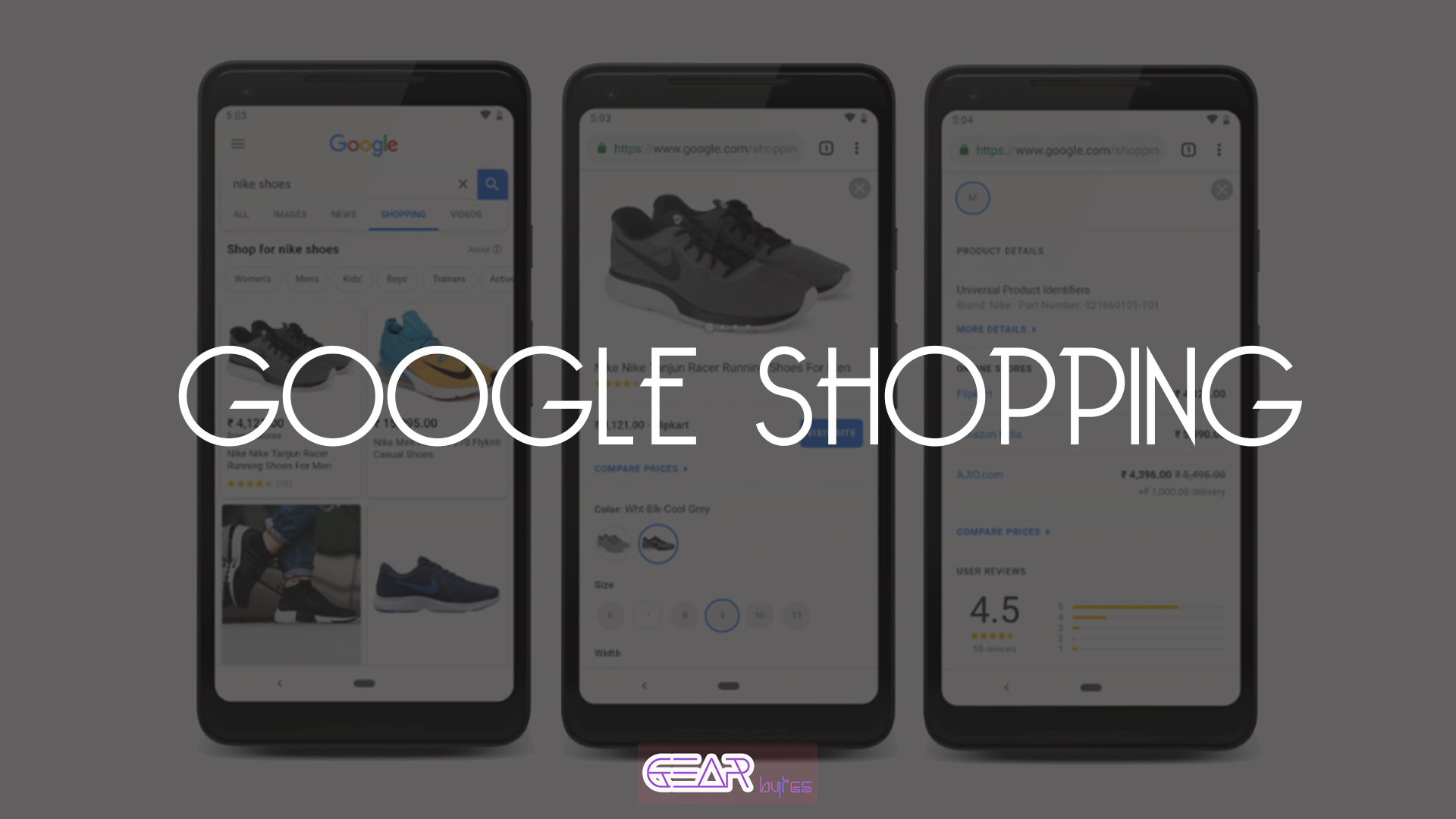 Google Shopping launched in India, gives new search
