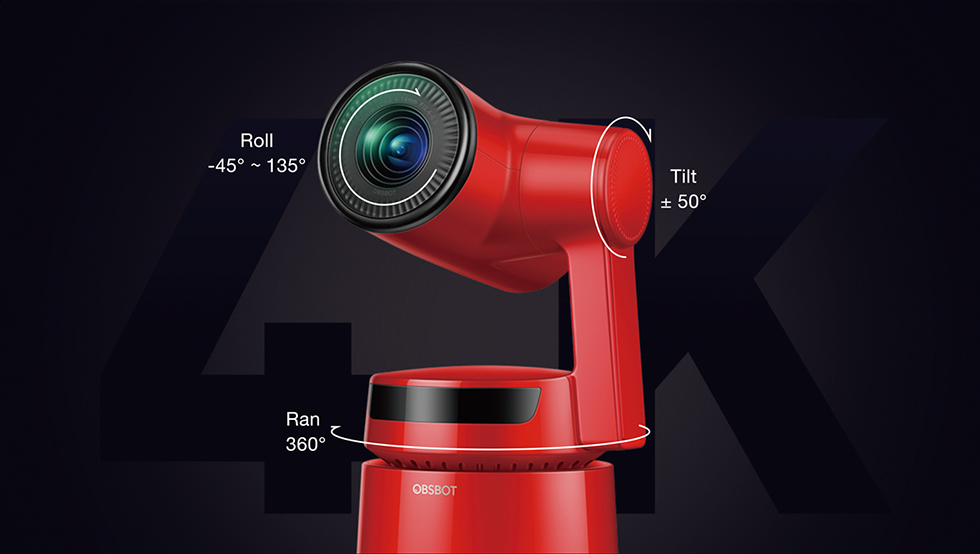 OBSBOT Tail Camera by Remo Tech is the World's First Auto-Director AI Camera