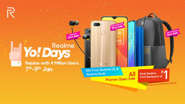 Realme to launch Tech Backpack on January 7 in India